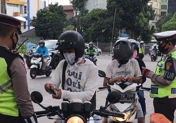 Begini Nih Nasib BikersBerhasil Mudik Tanpa SIKM Yang Ingin Kembali Ke Jakarta