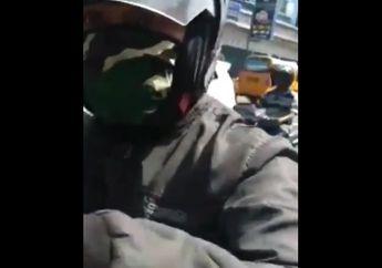 Jalanan Mendadak Macet, Video Ricuh Driver Ojol Vs Aparat, Berawal Saling Senggol di Jalan Berujung Pemukulan