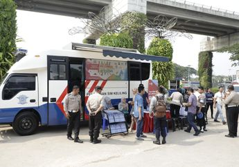 Jangan Lupa Perpanjang SIM, Ini Jadwal SIM Keliling Di Jakarta Dan Kota Lainnya Hari Rabu 11 November 2020