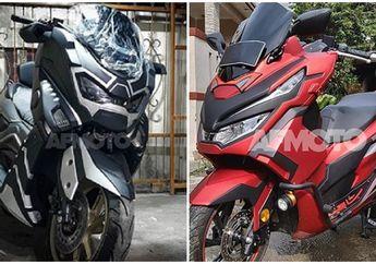 Duel Maut Yamaha NMAX Black Phanter Vs Honda PCX 150 Super Hero, Paket Komplit Obat Ganteng Motor Matic