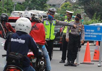 Pemotor Sadarlah, PSBB Jakarta Sudah Diperpanjang, Siap-siap Sanksi Sampai Denda Bagi Pelanggar PSBB