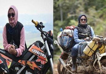 Enggak Nyangka, Video Bupati Cantik Doyan Trabasan Naik Motor Trail, Enggak Takut Menerjang Medan Ekstrim, Cuy!