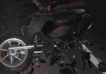 Alami Rem Blong, Motor Berisikan 4 Orang Kecelakaan, Tiga Orang Tewas