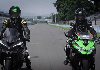 Sadis, Top Speed Kawasaki Ninja ZX-25R Modifikasi Sampai 192 Km/Jam