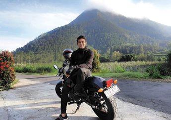 Enggak Nyangka, Pemain Sepak Bola Arema FC, Bagas Adi Nugroho Punya Hobi Riding Naik Moge Keliling Jogja