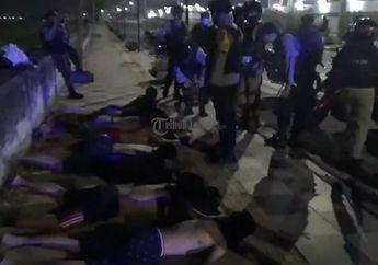 Tegang, Video Aksi Kejar-kejaran Para Pembalap Liar Dengan Polisi di Semarang, 7 Pemuda Berhasil Diamankan