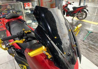 Cocok Buat Turing, Windshield Aftermarket Untuk Yamaha All New NMAX Ini Dijamin Anti Pecah, Segini Harganya