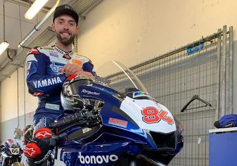 Wuih, Mantan Pembalap Yamaha di MotoGP Ini Malah Dapat Jatah Dua Kali Wild Card Di Ajang WSBK