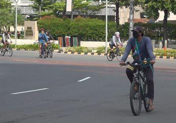 Awas! Polisi Bakal Kasih Hukuman Buat Pesepeda Gowes di Luar Jalur Sepeda, Dari Tilang Sampai Penjara