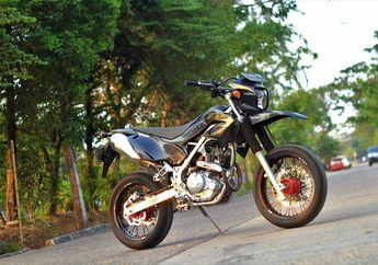 Gahar Abis, Kawasaki KLX230 Pakai Kaki-kaki Supermoto, Segini Habisnya