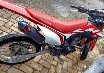 Marak Lagi Penipuan Jual Beli Motor Bekas, Honda CRF150L Lenyap Disikat Maling, Pelaku Masih Pakai Modus Lama
