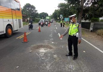 Remaja Pemotor Tewas Setelah Terjatuh dan Ditabrak Bus dari Belakang, Ternyata Penyebabnya Gara-gara Jerami