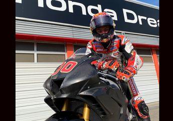 Ada Apa Nih, Pembalap MotoGP Takaaki Nakagami Jajal Motor Superbike Honda, Banting Profesi ke WSBK?