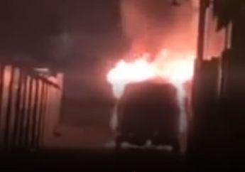Berhasil Diringkus Pelaku Pembakaran Mobil Via Vallen Diduga Pura-pura Gila, Ngaku-ngaku Pedangdut Seksi Ini Sebagai Istrinya