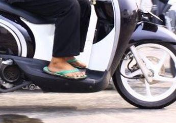 Jari Kaki Terancam Putus, Bikers Hati-hati Saat Berkendara, Naik Motor Pakai Sendal Ternyata Bahaya Banget, Begini Penjelasannya