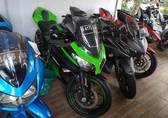 Pahe Serbu Motor 2 Silinder Ninja 250 dan R25 Tidak Sampai Rp 20 Juta
