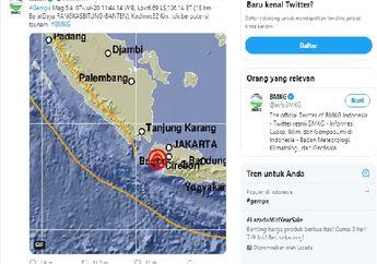Breaking News, Bikers Sadar Gak? Siang Ini Terasa Gempa Di Jakarta Dan Sekitarnya