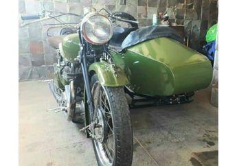 Gokil, Motor Bekas Perang Dunia Kedua Dijual, Harganya Dijamin Bikin Melongo