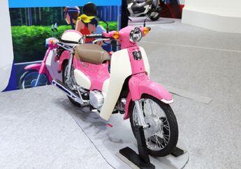 Honda Super Cub 50 dan 110 Terbaru Dibalut Warna Pink, Terinspirasi Film Kartun Jepang