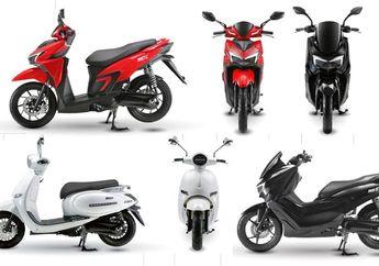 Yamaha NMAX dan Honda Vario Bermesin Listrik Sanggup Digeber 110 Km/Jam Dijual Masal di Indonesia