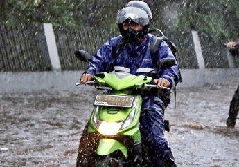Waspadalah Bikers, BMKG Prediksi Hujan Akan Guyur Beberapa Wilayah Ini