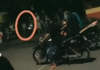 Bulu Kuduk Merinding, Video Penampakan Saat Detik-detik Start Balap Liar, Netizen: Setan Racing!