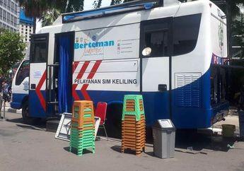 Pelayanan SIM Keliling Hari Ini Tersedia di 13 Tempat di Jakarta Buruan Sebelum Tutup
