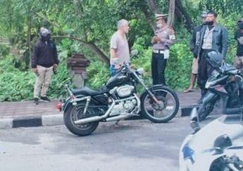 Gagal Salip, Harley-Davidson Vs Honda PCX Berakhir Senggolan, Satu Pemotor Tutup Usia