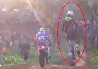 Video Detik-detik Pembalap Grasstrack 'Zuneng Monza' Meninggal Saat Balapan, Tubuhnya Terlempar ke Tanah