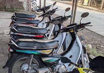 Penggemar Honda Astrea Grand Dijamin Ngiler, Modal Rp 5 Jutaan Sudah Bisa Bawa Pulang Motor Bebek Lawas Kondisi Mulus