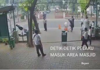 Siap-Siap Kena Azab, Bukannya Ibadah Dua Lelaki Ini Langsung Menuju Parkiran dan Bawa Honda Genio, Maling Langganan Nih