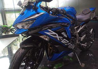 Identik Hijau, Kawasaki Berani Tawarkan Ninja ZX-25R 4 Silinder Berwarna Biru?