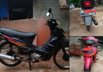 Motor Bebek Legendaris 4-tak Jarang Ada, Suzuki Shogun Kebo Dijual Borongan Cuma Segini Harganya