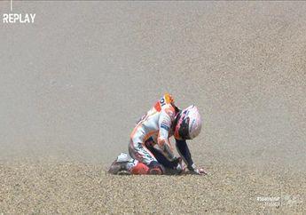 Begini Nasib Marc Marquez Setelah Patah Tangan di MotoGP Spanyol 2020