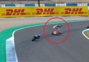 Marc Marquez Patah Tangan Terjungkal di MotoGP Spanyol 2020, Kenalan dengan High Side Crash dan Low Side Crash