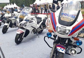 Motor Dinas Polisi Boleh Pakai Pelat Nomor Stiker, Kenapa Pemotor atau Bikers Langsung Ditilang?