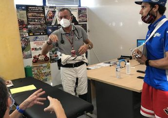 Alex Rins Bisa Tampil di MotoGP Andalusia 2020? Begini Kata Bos Suzuki