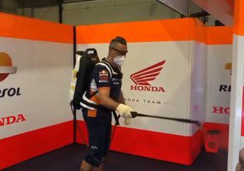 Demi Protokol Kesehatan, Kru Tim MotoGP Punya Kerjaan Baru di Paddock