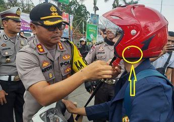 Kenapa Helm Sudah Ada Logo SNI Tetap Ditilang Polisi? Ini Jawabannya