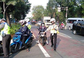 Hari Pertama Operasi Patuh Jaya 2020, Sebanyak 1.763 Pengendara Ditilang Polisi, Pelanggaran Ini Paling Banyak