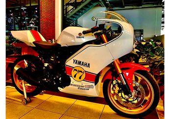 Jarang yang Punya Yamaha R25 Retro Mirip Motor Balap Kenny Roberts Body Kitnya Dijual Resmi