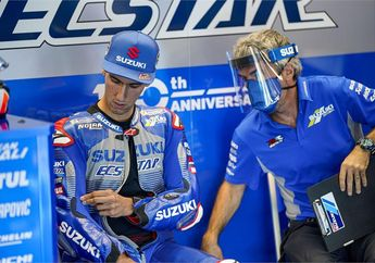 Kenapa Nih? Setelah MotoGP Portugal 2020, Alex Rins Akan Menjalani Operasi Bahu?