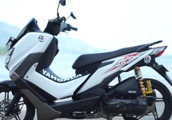 Viral! Launching Motor Yahonda, Motor Matic Silangan Yamaha NMAX dan Honda BeAT