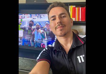 Wuih! Jorge Lorenzo Ikutan Selebrasi Yamaha di MotoGP Andalusia 2020