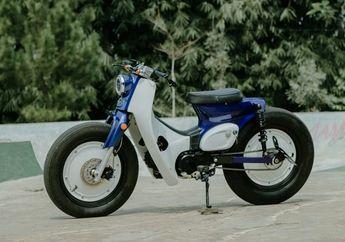 Modifikasi Honda Astrea Grand Jadi Street Cub Sangar, Berkat Kaki-kaki Gambot