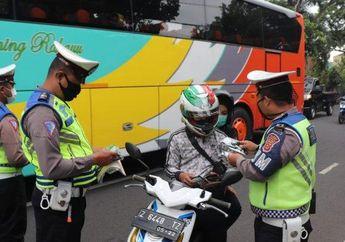 6 Hari Razia Gabungan Digelar, 4240 Pengendara Dapet Surat Cinta dari Pak Polisi