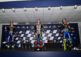 Yamaha Sapu Podium di MotoGP Andalusia, Kejadian Jarang, Fakta Bicara