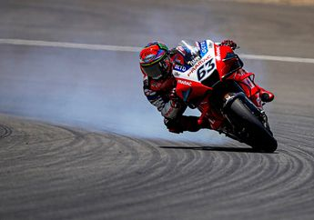 Gak FInis di MotoGP Andalusia, Pembalap Ini Siap Balas Dendam di Brno
