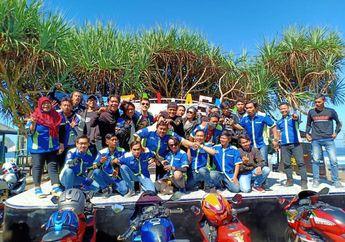 Keren, 110 Bikers Suzuki GSX 150 Series Jelajahi Wisata Pantai Asmara