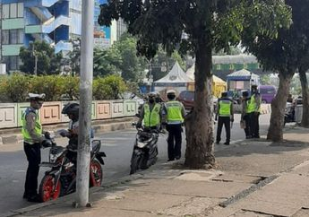 Besok Razia Operasi Patuh Jaya 2020 Selesai Lanjut Ganjil Genap, Pemotor Ketar-ketir Cek Pelat Nomor